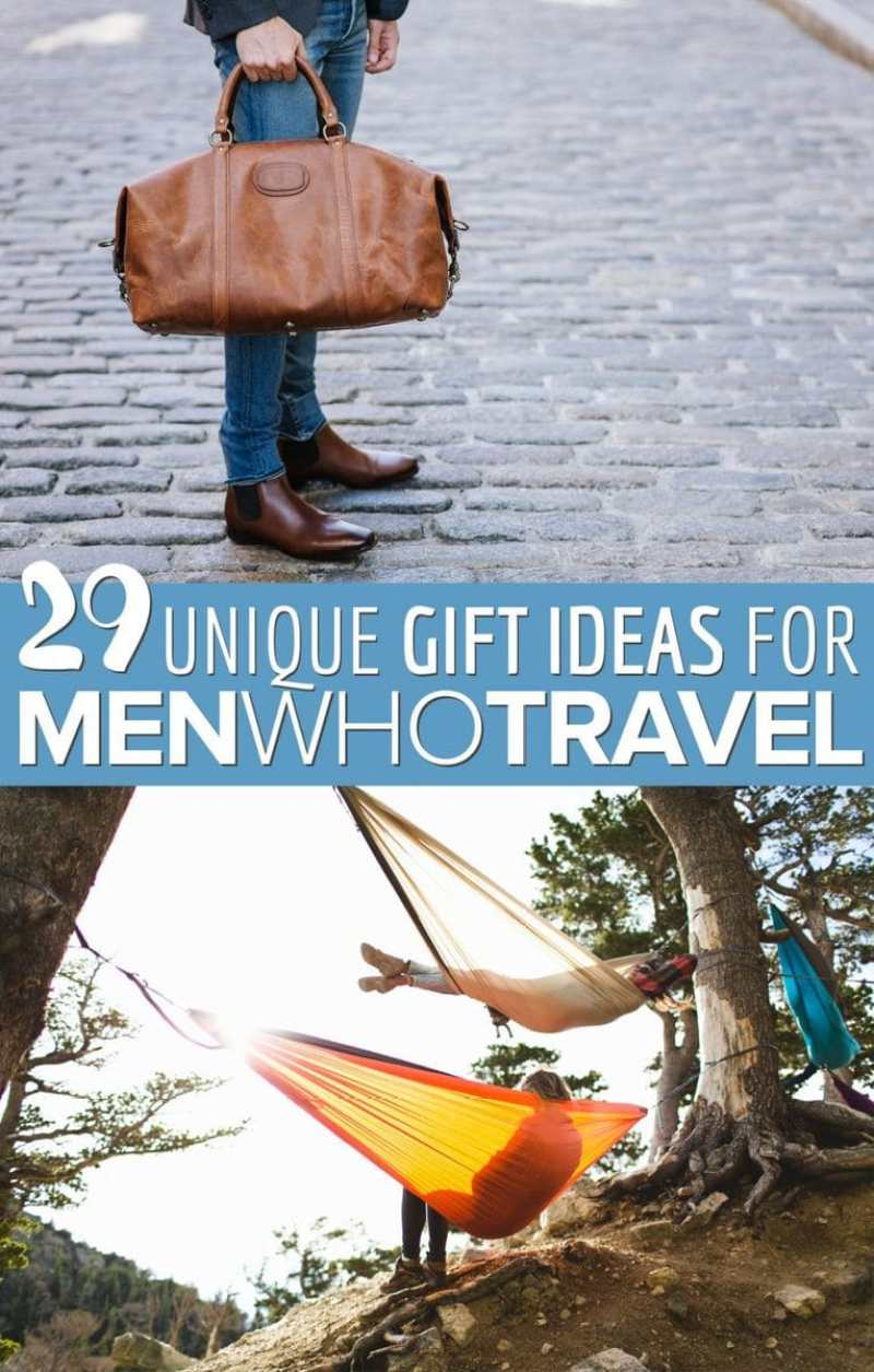 29 Best Travel Gifts for Men