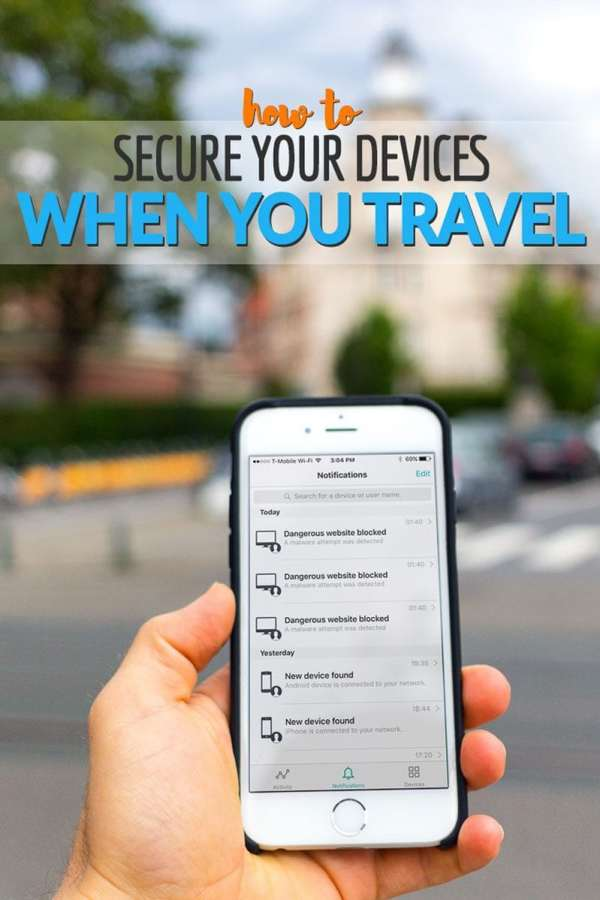 How to Secure Your Mobile Devices When You Travel