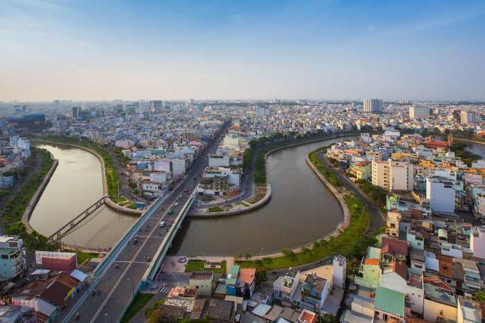 Views of the Saigon River