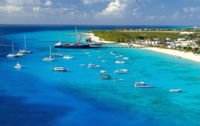 The turquoise waters of Grand Turk