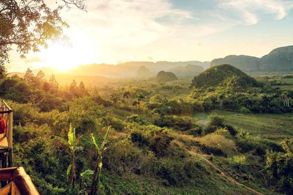 The mountainous savanna of Viñales