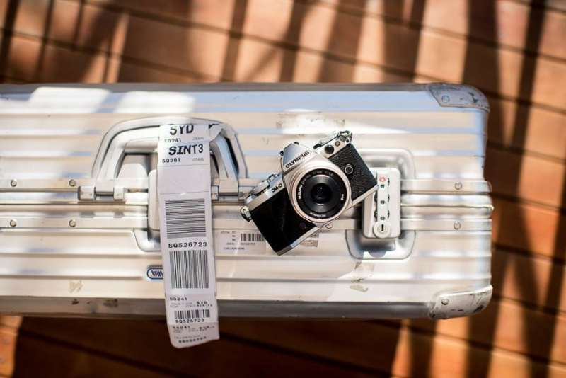 The Olympus OM-D E-M5 Mark II, one of the best moderately priced mirrorless cameras for travel.