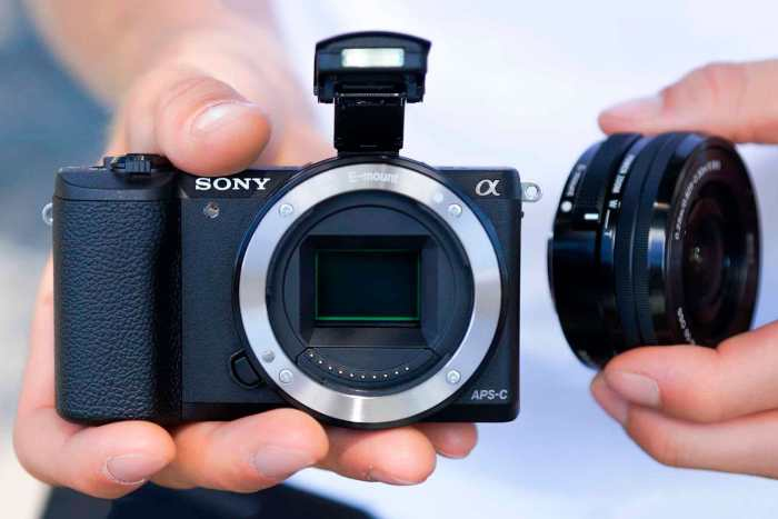 The Sony a5100, one of the best mirrorless cameras for travel photography if you're on a budget.