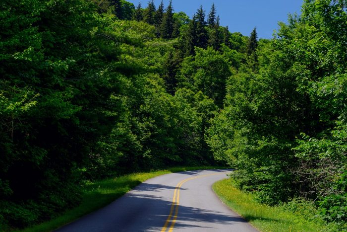 Driving the Blue Ridge Parkway
