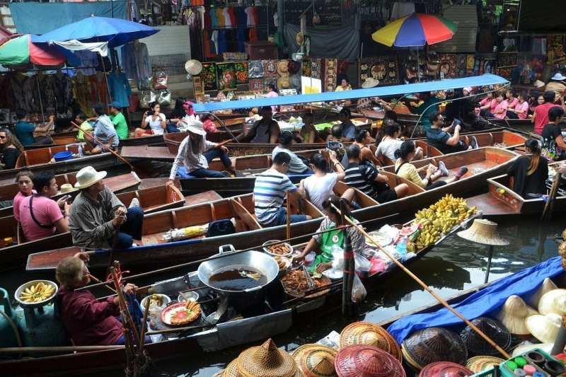 The Floating Markets of Bangkok