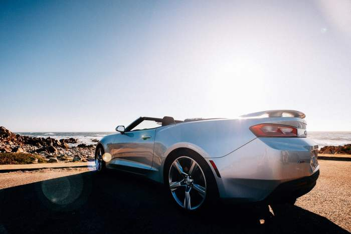 If you're road tripping the Pacific Coast Highway, a convertible is a MUST.