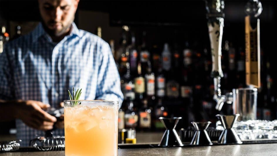 The Marketplace is a great local spot to eat and drink in Asheville