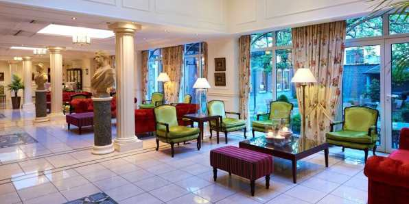 Luxury Stanhope Hotel Brussels accommodation in brussels