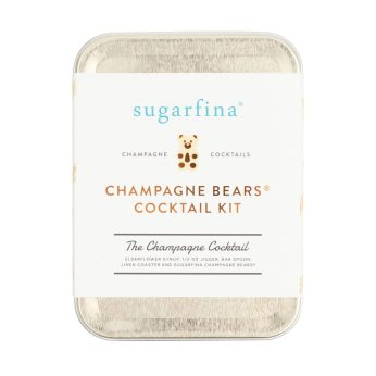 Sugarfina Carry On Cocktail Kit is a perfect gift for a frequent flier.