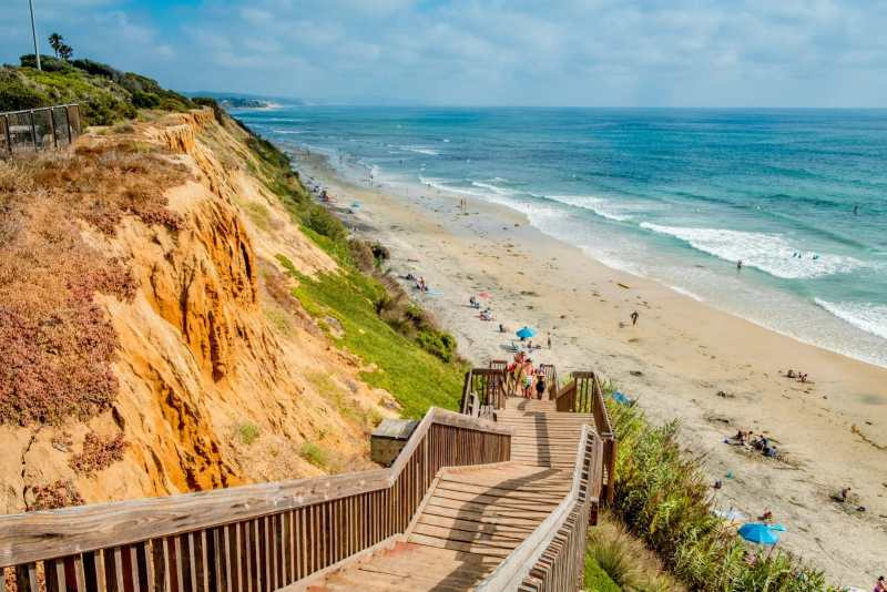A Pacific Coast Highway road trip itinerary has to include a stop at Encinitas.