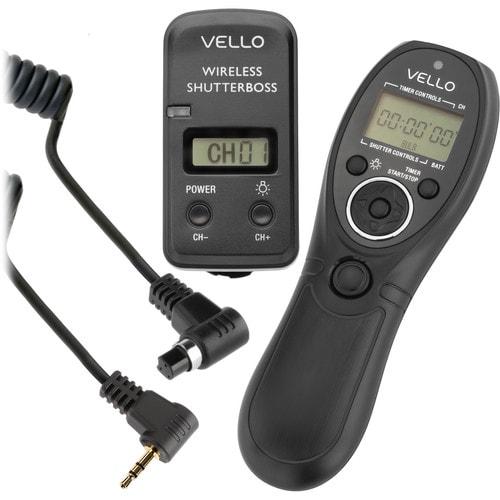 Vello ShutterBoss III Wireless Intervalometer