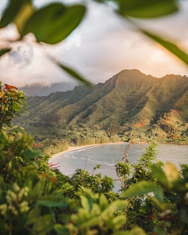 Hawaii mountain views