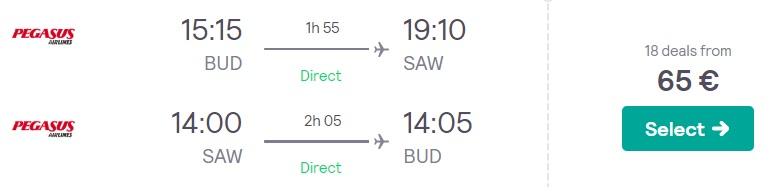 cheap flights budapest istanbul