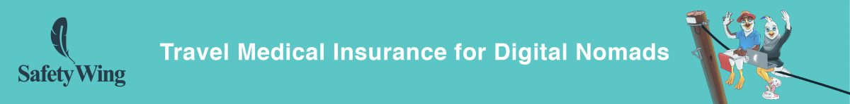 travel medical insurance for digital nomads