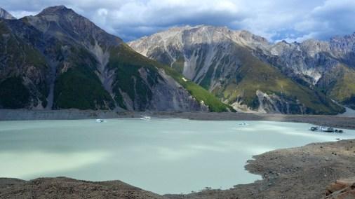 Tasman Glacier Lake, New Zealand