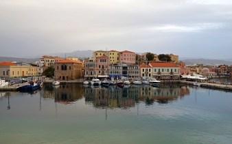 The Old Venetian Harbour, Chania, Crete, Greece