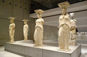 The Caryatids, The Acropolis Museum, Athens, Greece