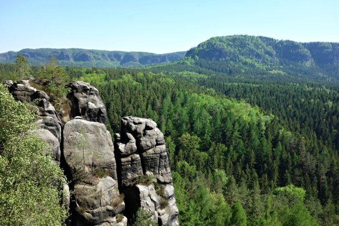 Bastei, Saxon Switzerland