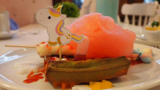 love uniqorn unicorn cafe tempat instagramable di bandung