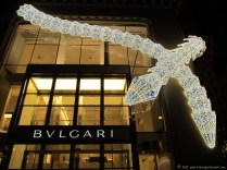 Bulgari's storefront