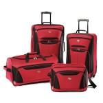 American Tourister Luggage Fieldbrook II 4 Piece Set Red