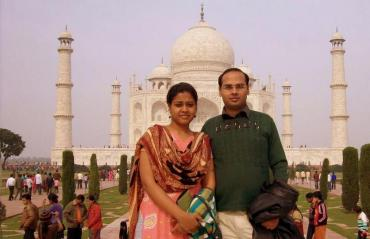 64-Taj Mahal, Agra