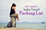 The Perfect India Packing List (Updated 2017)