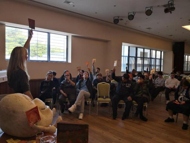 Παρουσίαση Βιβλίου στον Σύνδεσμο προστασίας για παιδιά και Αμέα