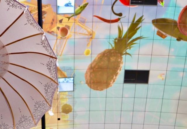 Markthal Rotterdam plafond