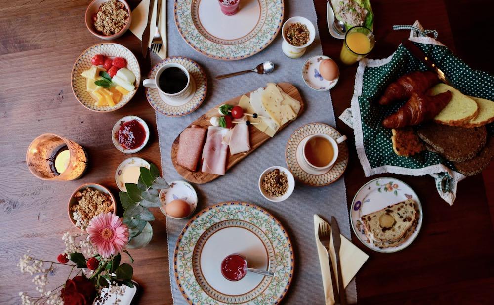 Ontbijt het Wellnest Bed and Breakfast