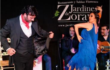 Espectáculo de flamenco en Jardines de Zoraya TGT