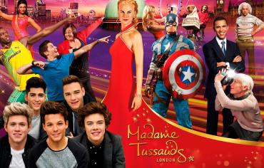 Madame Tussauds Londres TGT