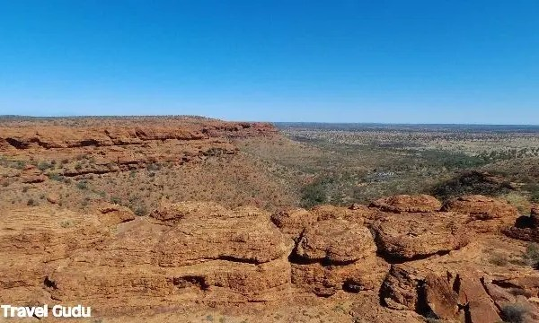 Australia in camper: il Kings Canyon