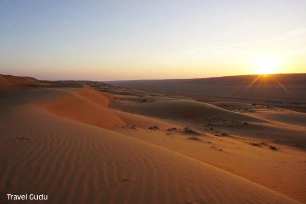 Oman: un giorno nel deserto