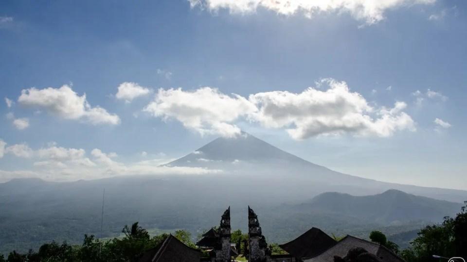 Pura Lempuyang e vulcano Agung, Bali