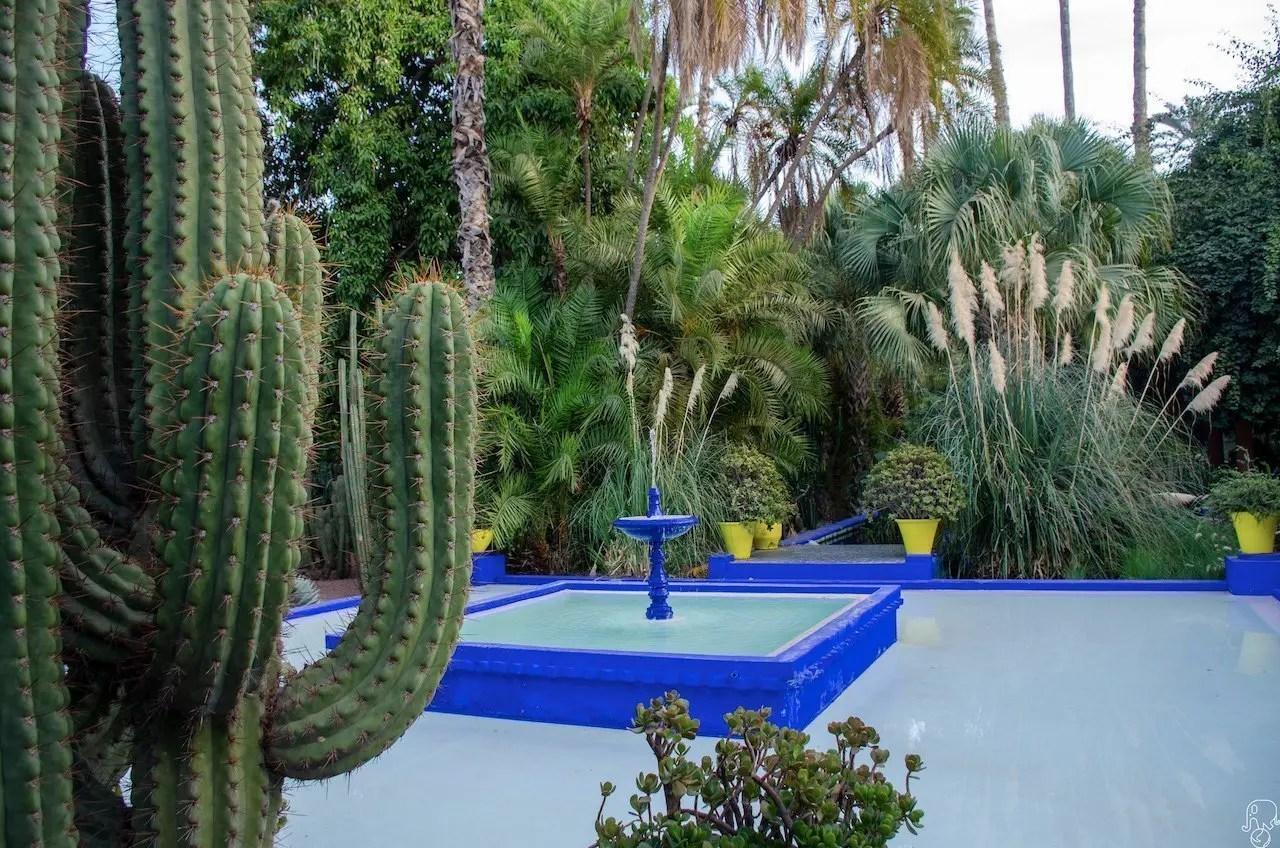 Marrakech giardini Majorelle