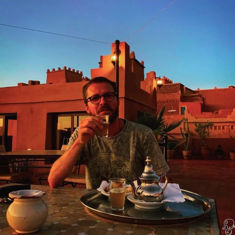 Marocco the alla menta
