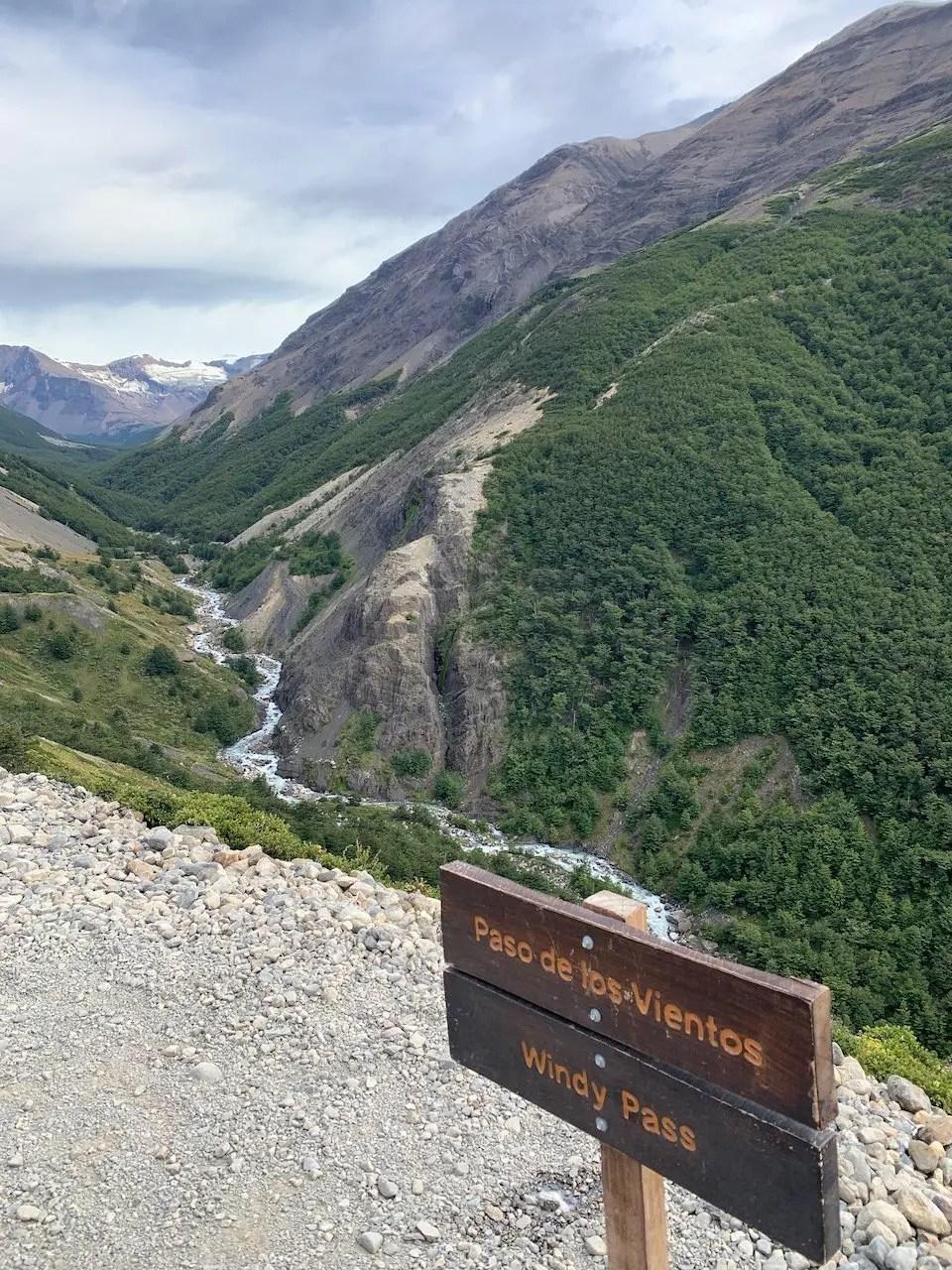 trekking base torres cile