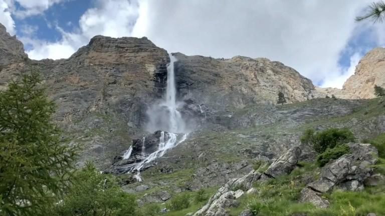Cascate di Stroppia, le più alte d'Italia