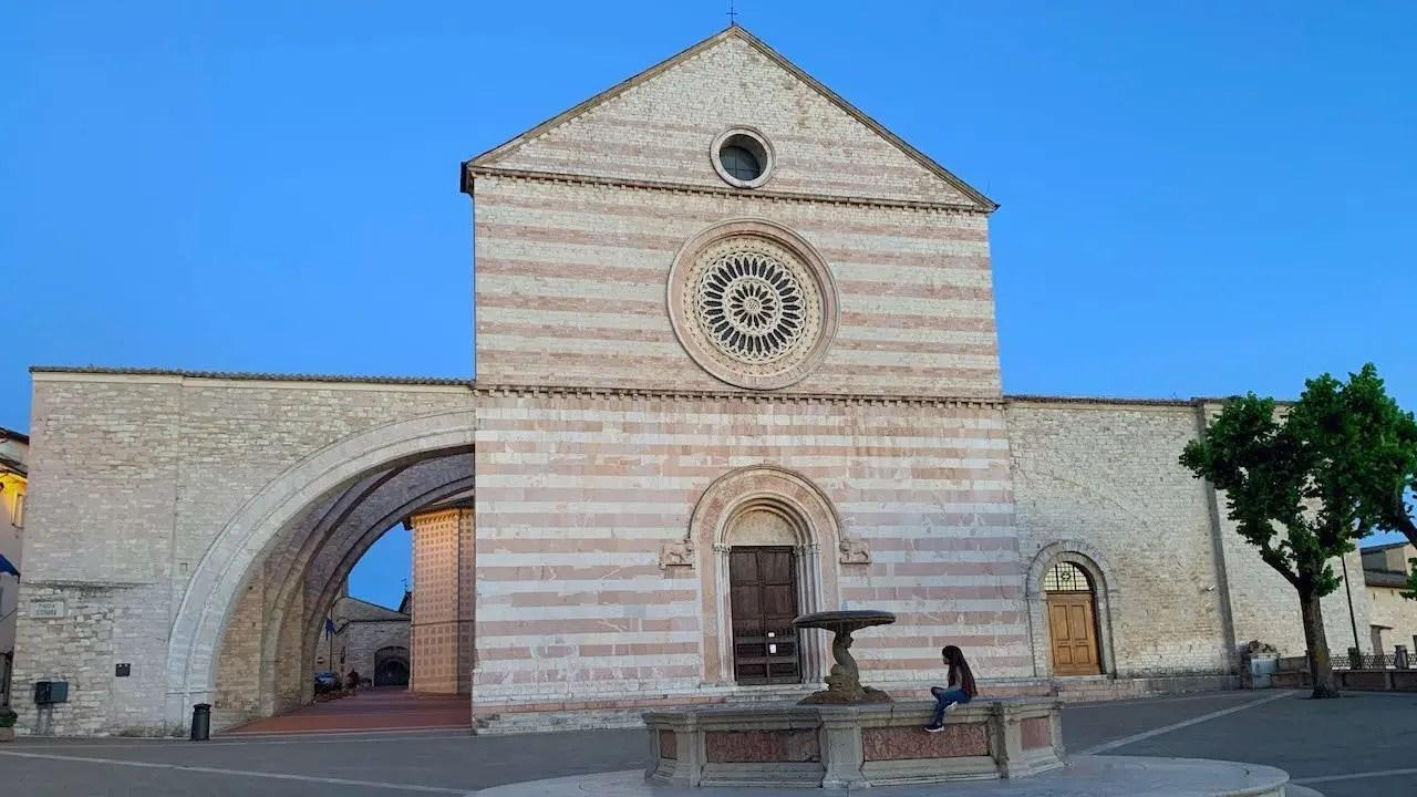 chiesa di Santa Chiara Assisi