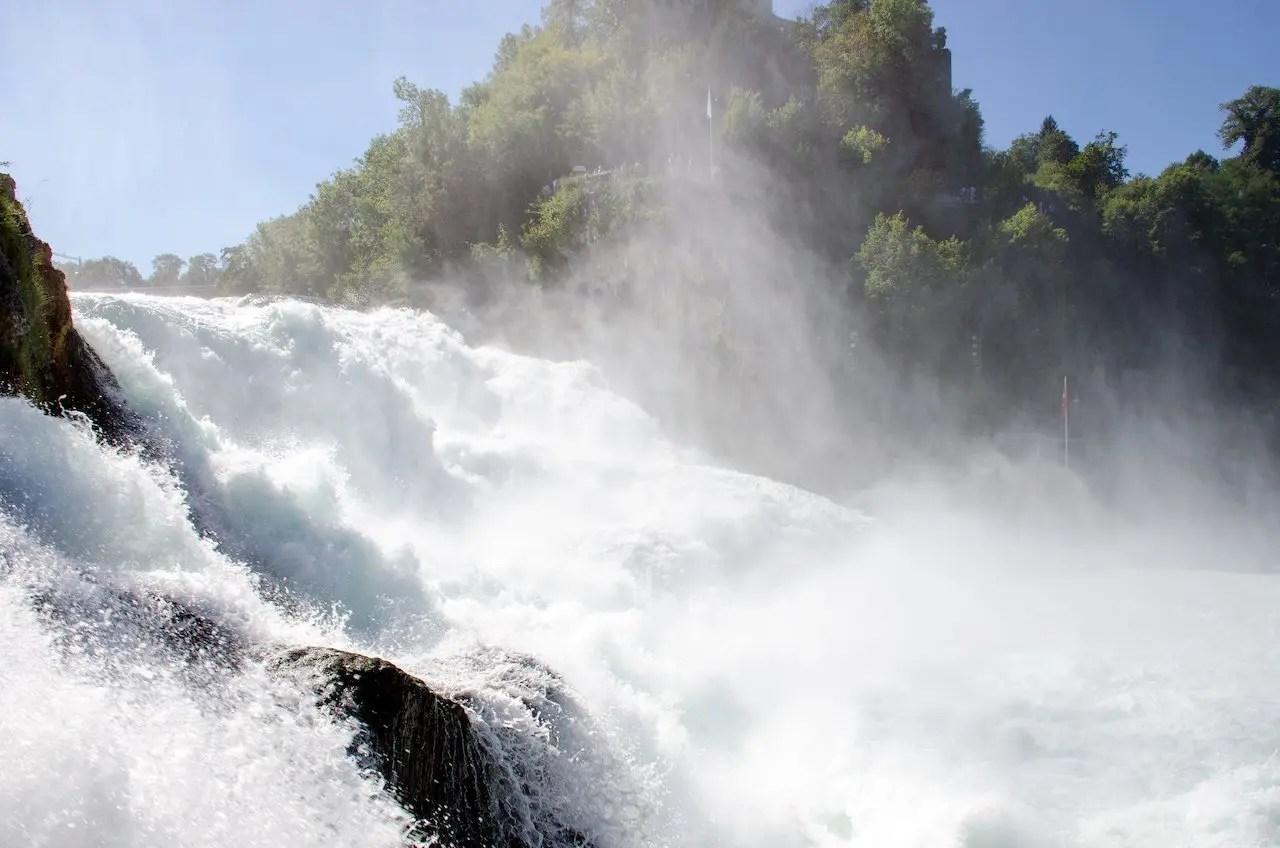 visitare le cascate del reno