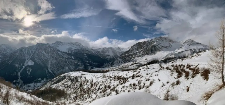 valle maira inverno