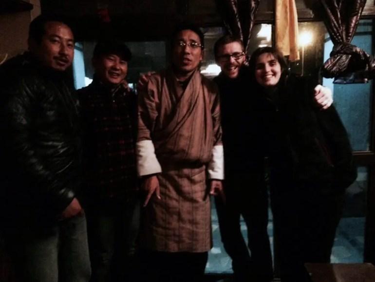 amici bhutanesi