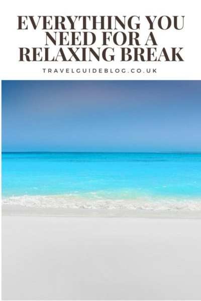have a relaxing break