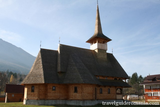 Ortodox wooden church from Maramures area