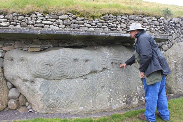 Newgrange Curbstone