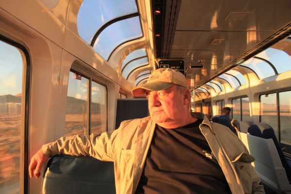 Dan Burgoyne on California Zephyr