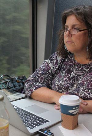 Mindie Burgoyne - Capitol Limited - USA Rail Trip