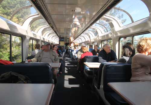 California Zephyr Sightseeing Car - Amtrak