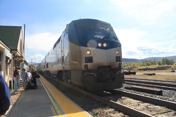 California Zephyr at Granby Station